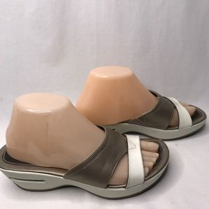 Cole Haan Leather Sandals 7.5 Slip On Air Sport